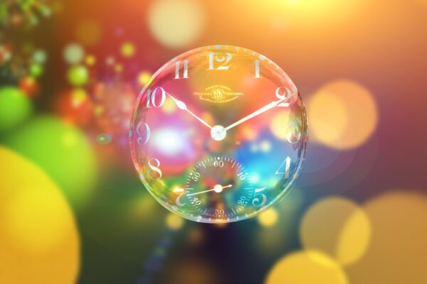 clock, bokeh, time out